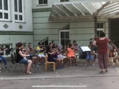 Streichorchester der Musikschule Himberg und ebergassing