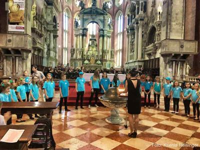 Unser Konzert in der Basilika in Venedig web